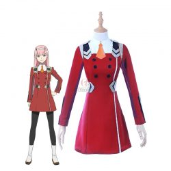 DARLING in the FRANXX Anime Cosplay Costumes 02 Zero Two Women Costume Full Sets