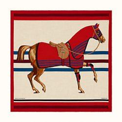 Cheval a la Couverture shawl 140 | Hermès