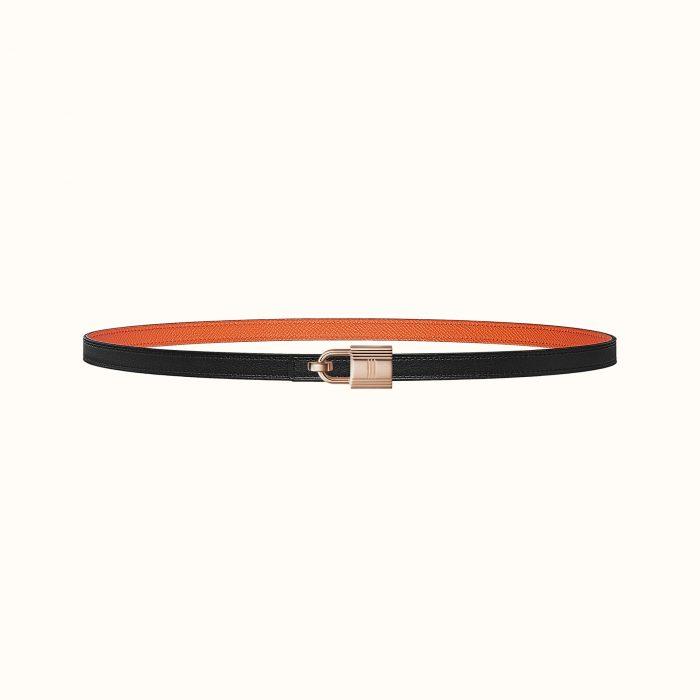 Romance belt buckle & Reversible leather strap 13mm | Hermès
