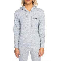 Bonds Women's Fleece Hoodie – Gravel Marle | BIG W