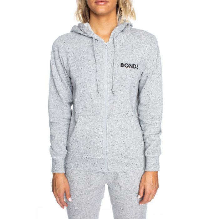 Bonds Women's Fleece Hoodie – Gravel Marle | BIG W