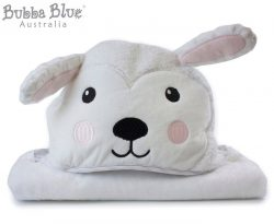Bubba Blue 70x100cm Aussie Animals Sheep Novelty Hooded Bath Towel | Catch.com.au