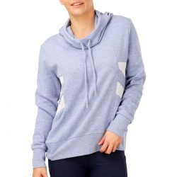 Circuit Women's Mesh Trim Hoodie – Light Blue | BIG W