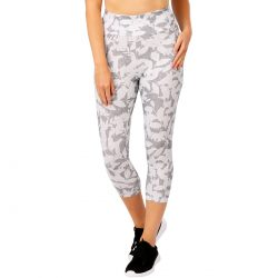 Circuit Women's Print Crop Legging – Grey