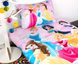 Disney Princess Microfibre Single Bed Quilt Cover Set |