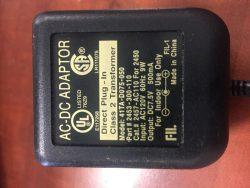 New 7.5V 500mA FIL 41TA-D075-050 2453-300-110 Class 2 Transformer Power Supply Ac Adapter