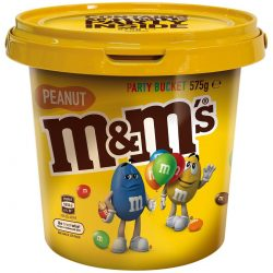 Mars Peanut M&M's Party Bucket 575g | BIG W