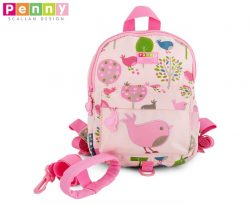 Penny Scallan Kids' Chirpy Bird Mini Backpack w/ Safety Rein |