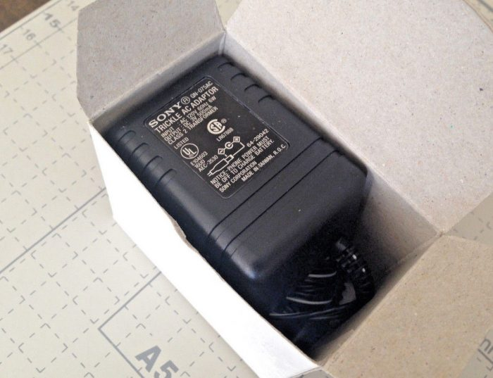 New 3V 500mA Sony Qn-075ac Class 2 Transformer Power Supply Ac Adapter