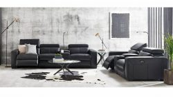 Buy Omnia Leather Sofa | Harvey Norman AU