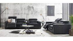 Buy Omnia Leather Sofa | Harvey Norman AU