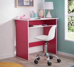 Buzz Desk in Pink | Fantastic Furniture