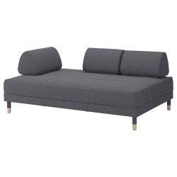 FLOTTEBO Sofa-bed – Gunnared medium grey – IKEA