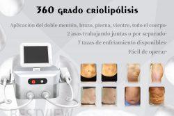 máquina de adelgazamiento corporal criolipólisis portátil