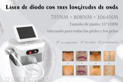 three-wavelength diode laser hair removal machine