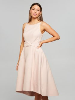 Best Dressed Ottoman Dress Blush – Portmans Online