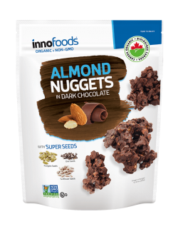 Dark Chocolate Nuggets – Almond