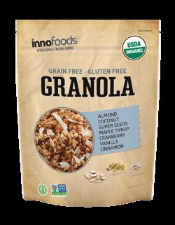 Grain-Free Granola – Innofoods Inc.