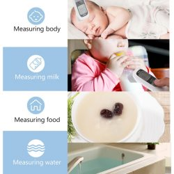 Kontaktlos Stirnthermometer Digital Infrarot Stirnthermometer Berührungsloses Fieberthermometer  ...
