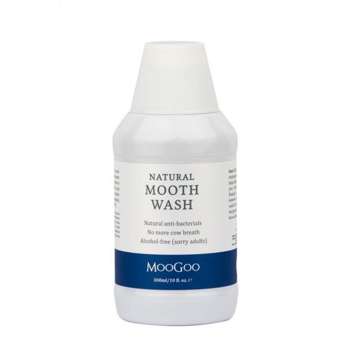 Natural Mouthwash   Alcohol Free   MooGoo Skin Care