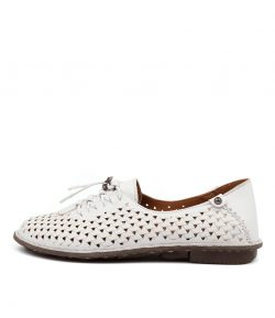 DIANA FERRARI Naren White Leather