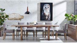 Buy Parklane 270cm Rectangular Dining Table | Harvey Norman AU