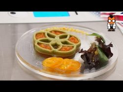 Food Ink World's First 3D Printing Restaurant – London Pop Up – YouTube