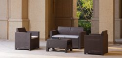 Insharefurniture Garden Longe Set