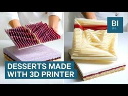 This chef uses a 3D printer to create incredible cakes – YouTube