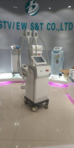 4 Handles Cryolipolysis Body Silmming Machine