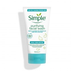 Simple® Daily skin detox purifying face wash