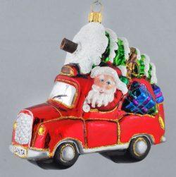 Polished Glass Baubles | Mrs Claus Christmas Kingdom