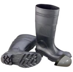 PVC boots with stell toe