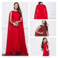 Red Prom Dresses Online 2021 from SheinProm UK