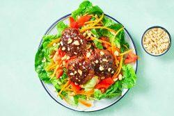 Korean Beef rissoles