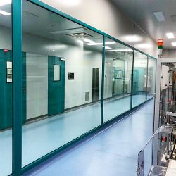 Cleanroom factory