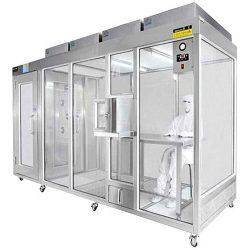 Modular clean booth