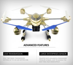 2015 newest hexacopter toys Headless Mode One Key Return RC hexacopter With HD camera Atmosphere ...