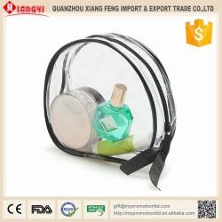Portable travel cosmetic bag
