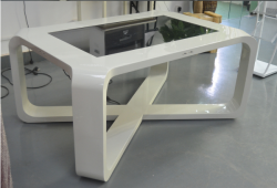 42″ waterproof 10points PCAP touch screen coffee table / touch table price / touchscreen g ...