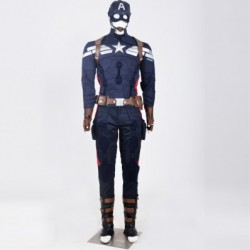 alicestyless.com Captain America 2 Winter Soilder Steve Rogers Cosplay Costumes