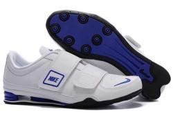 Men's Nike Shox R3 Shoes White/Blue/Black H8LE4E,Shox,Jordans For Sale,Jordans For Cheap,N ...
