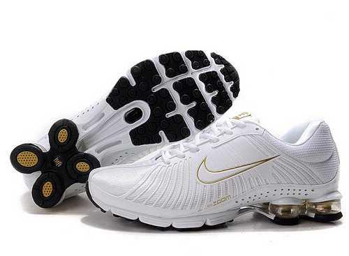 Men's Nike Shox R4 Shoes White/Yellow 36J1Q0,Shox,Jordans For Sale,Jordans For Cheap,Nike  ...