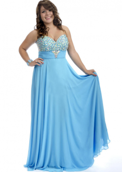 US$159.99 2015 Blue Chiffon Ruched Floor Length Sweetheart Lace Up Crystals Sleeveless