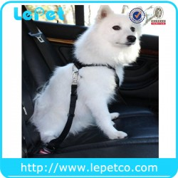 Adjustable Pet Dog Car Auto Safety Seat Belt | Lepetco.com