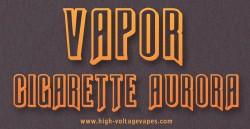 vapor cigarette aurora